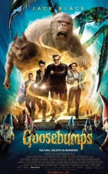 fun international posters for the goosebumps movie