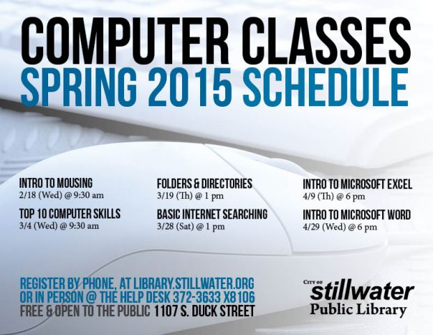 Computer Classes Spring