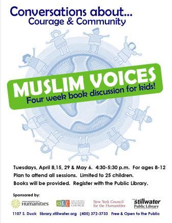 Muslim Voices scroller