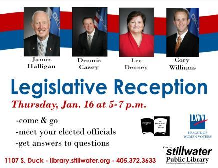 legislative reception  web
