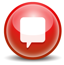red chat icon